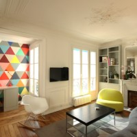 Parisian Chic Apartment by Camille Hermand Architectures (Part 3/3)
