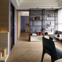 A Modern Paris Apartment in Taiwan - by Folk Design 馥閣設計