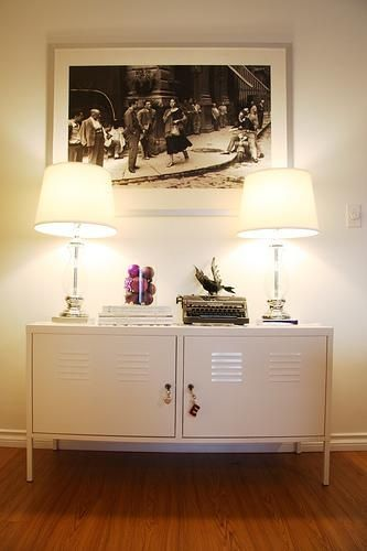 P/S: Inspired By The Pictures Above, I Have A Pair Of This Cabinets At Home  As My TV Console Too!
