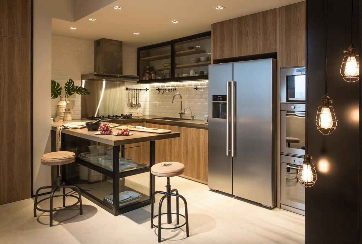 Industrial Chic Hong Kong Apartment Wylie Court By Chinc S Workshop Spoonful Of Home Design