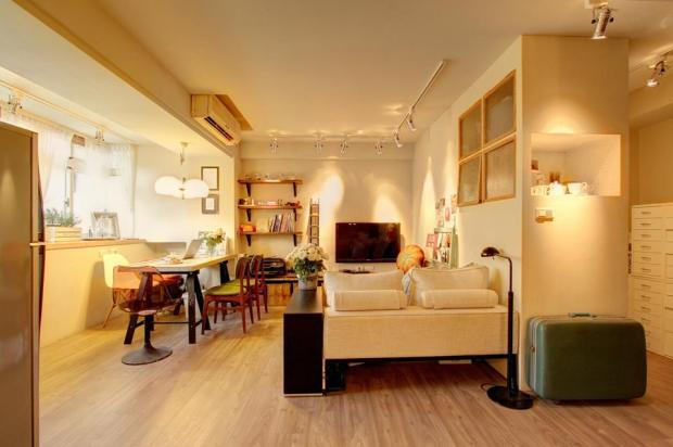 Flea market chic home in taipei spoonful of home design - Lee S Design Designer S Flea Market Chic Home In Taipei