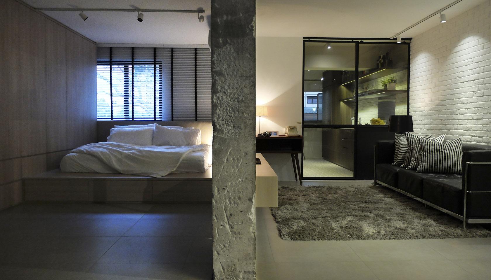 3 Room Flat 0932 design consultants | a 3-room hdb flat transformation