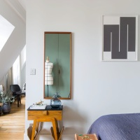Small Space Living | Christophe Poyet's Retro-inpired Parisian Apartment