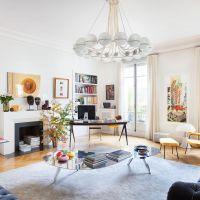 Sandra Benhamou's Chic and Eclectic Apartment in Paris
