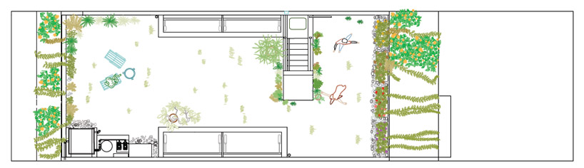 Roof garden house plans - House plans