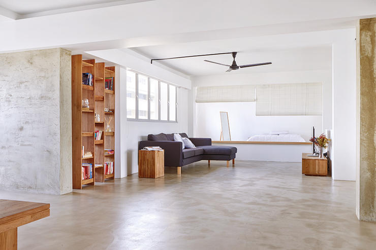 A minimalistic hdb jumbo flat by desmond ong spoonful of for Minimalist home design singapore