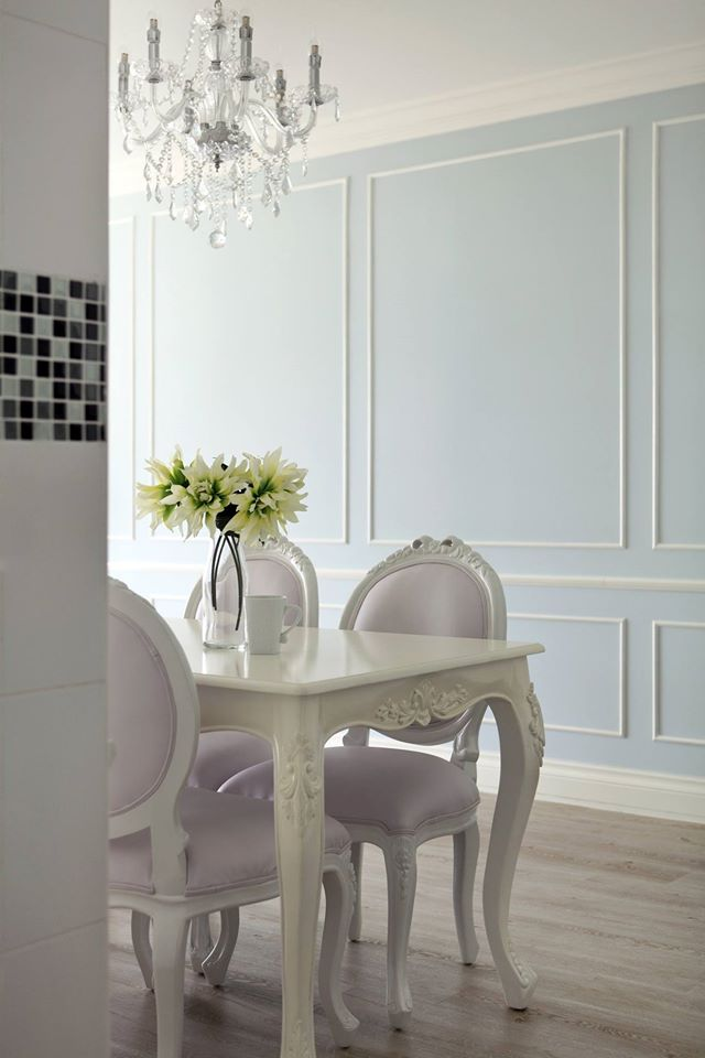 Bedroom Hdb Furniture: A 4-room HDB Flat With French-inspired Theme By Green And