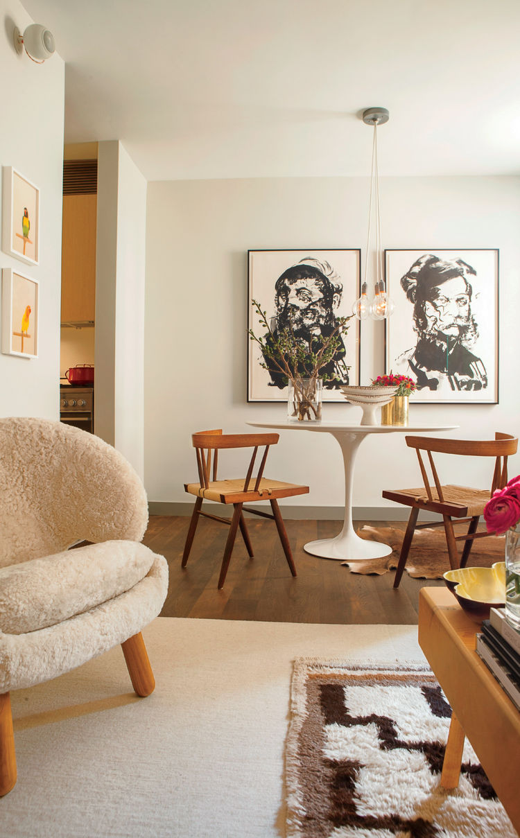 Small Space Living Mid Century Luxury In A 520 Square